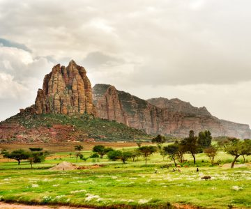 Landschap Ethiopië   Groepsreizen